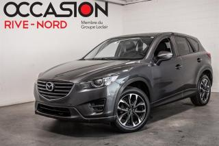 Used 2016 Mazda CX-5 GT AWD CUIR+TOIT.OUVRANT for sale in Boisbriand, QC