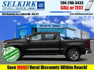 New 2020 Chevrolet Silverado 1500 RST  - Heated Seats for sale in Selkirk, MB