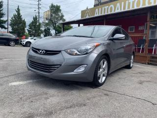 Used 2013 Hyundai Elantra L Limited w/Navi for sale in Scarborough, ON