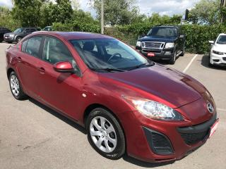 Used 2010 Mazda MAZDA3 GX ** AUTOSTART, A/C ** for sale in St Catharines, ON