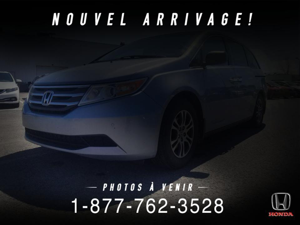used 2011 honda odyssey ex-l dvd cuir toit mags wow for sale in st-basile-le-grand, quebec carpages.ca