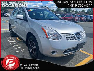 Used 2010 Nissan Rogue S for sale in Rouyn-Noranda, QC