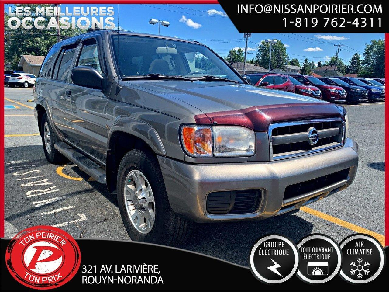 used 2004 nissan pathfinder chinook for sale in rouyn-noranda, quebec carpages.ca