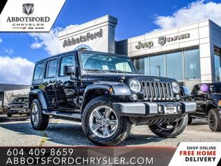 Used 2017 Jeep Wrangler Unlimited Sahara  -  - Air - $286 B/W for sale in Abbotsford, BC