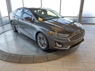 Used 2019 Ford Fusion Hybrid Titanium 4dr FWD Sedan for sale in Edmonton, AB