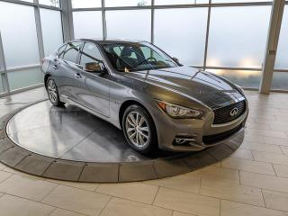 Used 2016 Infiniti Q50 2.0T NAVIGATION for sale in Edmonton, AB