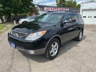 Used 2010 Hyundai Veracruz GLS/AWD/7 SEATER/LEATHER/SUNROOF/Certified for sale in Scarborough, ON
