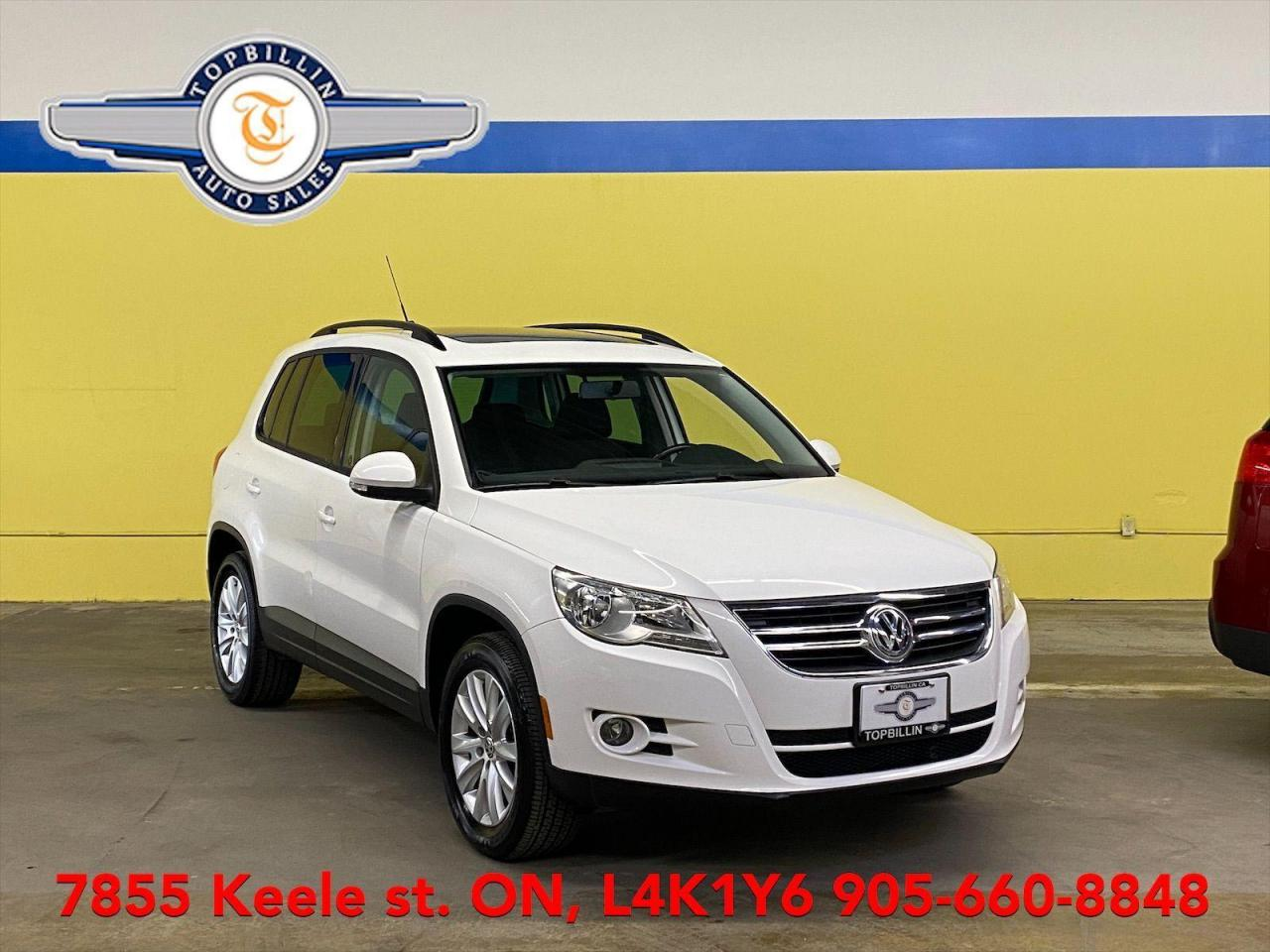 used 2010 volkswagen tiguan 4motion awd, panoramic sunroof for sale in vaughan, ontario carpages.ca