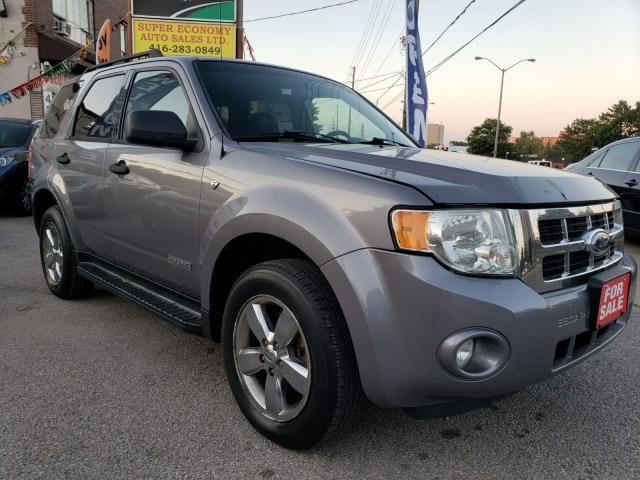 2008 Ford Escape XLT-EXTRA CLEAN-LEATHER-SUNROOF-POWER-AUX-ALLOYS