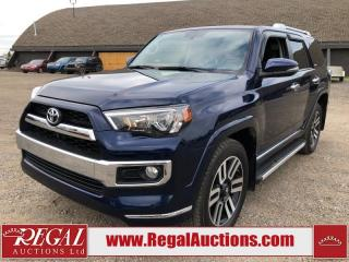 Used 2015 Toyota 4Runner Limited 4D Utility 4WD 4.0L for sale in Calgary, AB