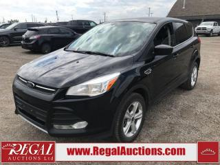Used 2014 Ford Escape SE 4D Utility AWD 1.6L for sale in Calgary, AB