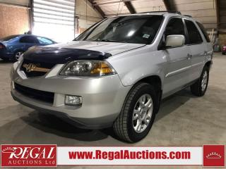 Used 2006 Acura MDX  4D UTILITY for sale in Calgary, AB