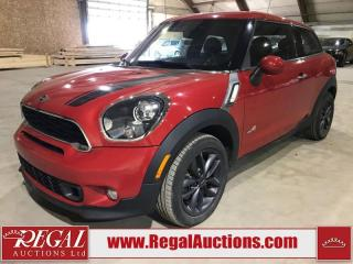 Used 2013 MINI Cooper Paceman 2D HATCHBACK AWD for sale in Calgary, AB