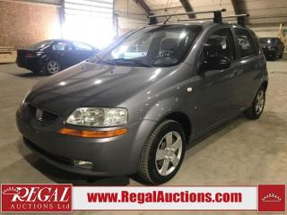 Used 2007 Pontiac WAVE BASE 4D HATCHBACK for sale in Calgary, AB