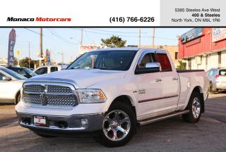 Used 2013 RAM 1500 QUAD CAB LARAMIE - LEATHER|SUNROOF|BACKUP|NAVI for sale in North York, ON