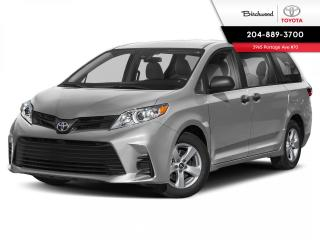 New 2020 Toyota Sienna LE 8PASS V6 for sale in Winnipeg, MB
