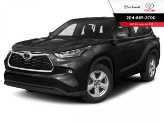 New 2020 Toyota Highlander LE STD PKG for sale in Winnipeg, MB