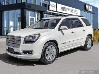 Used 2015 GMC Acadia Denali Amazing Condition! for sale in Winnipeg, MB