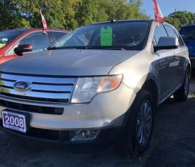 Used 2008 Ford Edge Limited for sale in Brockville, ON