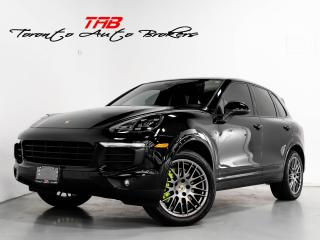 Used 2018 Porsche Cayenne S E-HYBRID I PLATINUM EDITION I NAVI  I PANO for sale in Vaughan, ON