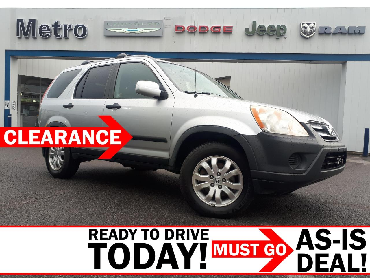 used 2006 honda cr-v ex as-is for sale in ottawa, ontario carpages.ca