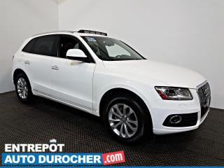 Used 2016 Audi Q5 2.0T Progressiv AWD TOIT OUVRANT - A/C - CUIR for sale in Laval, QC