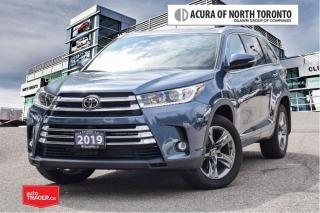 Used 2019 Toyota Highlander Limited AWD No Accident| Like New| Navigation for sale in Thornhill, ON