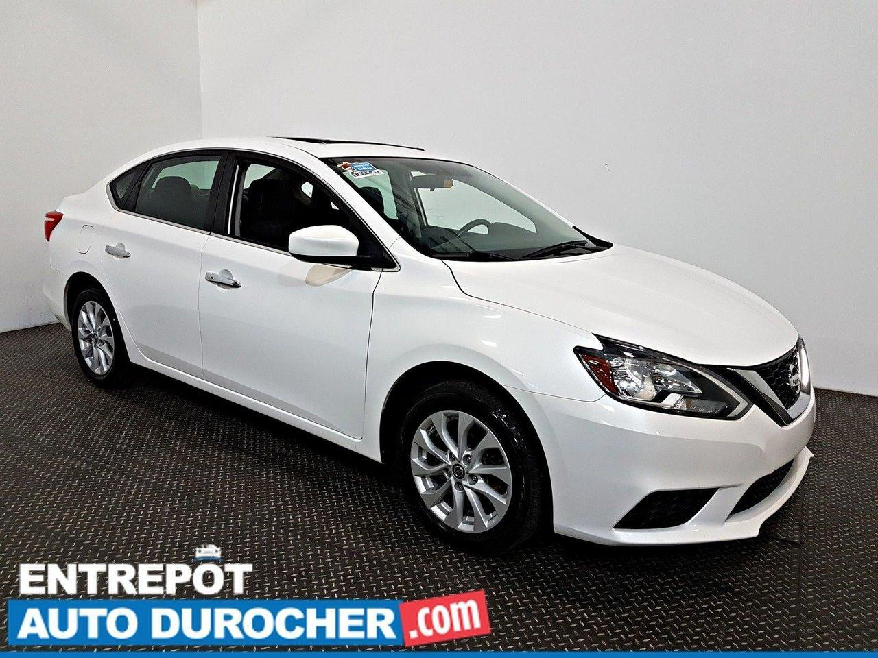 used 2018 nissan sentra sv nav -toit ouvrant - a c - caméra de recul for sale in laval, quebec carpages.ca