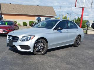 Used 2016 Mercedes-Benz C-Class LEATHER  ROOF  NAVI  BLIS  BURMEISTER  BACKUP CAM for sale in Ottawa, ON