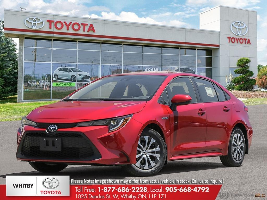 used 2021 toyota corolla hybrid for sale in whitby, ontario carpages.ca
