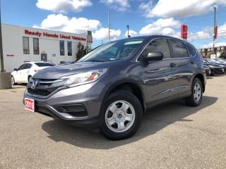 Used 2016 Honda CR-V LX  AWD - Bluetooth - Rear camera - Heated Seats for sale in Mississauga, ON