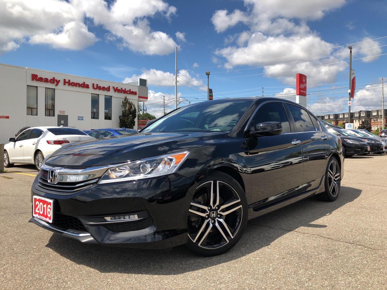 used 2016 honda accord sedan sport w honda sensing for sale in mississauga, ontario carpages.ca