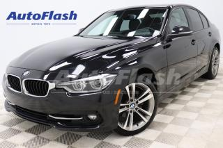 Used 2018 BMW 3 Series 330i Sport-Look *GPS/Camera *Toit-Ouvrant/Sunroof for sale in Saint-Hubert, QC