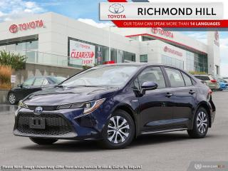 New 2021 Toyota Corolla COROLLA HYBRID for sale in Richmond Hill, ON