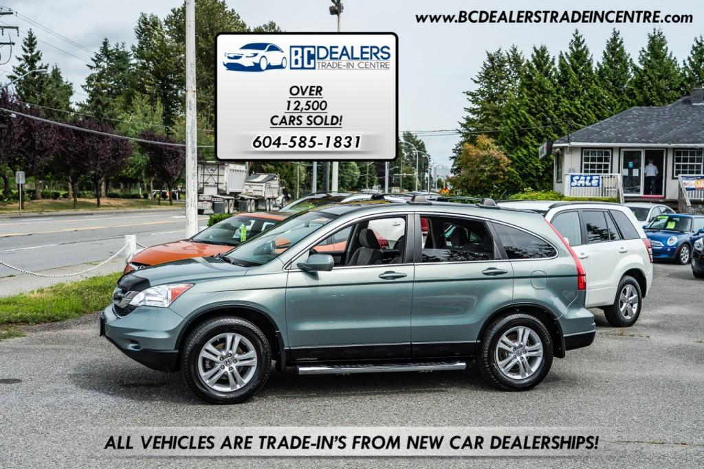 used 2010 honda cr-v ex, new bodystyle, service history, sunroof, alloys, clean for sale in surrey, british columbia carpages.ca