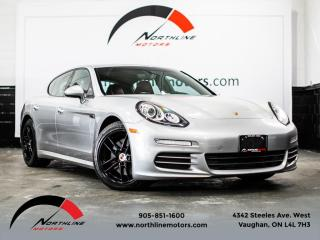 Used 2014 Porsche Panamera 4|Sport Chrono|Navigation|Camera|Red Leather|Heated Seats for sale in Vaughan, ON
