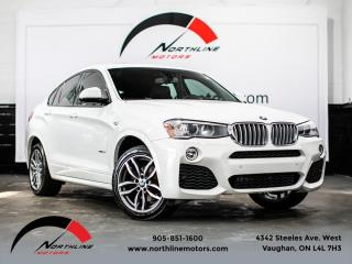 Used 2016 BMW X4 xDrive28i|M-Sport|Navigation|Camera|Sunroof for sale in Vaughan, ON