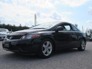 Used 2008 Honda Civic COUPE EX / ACCIDENT FREE for sale in Newmarket, ON