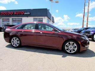 Used 2015 Lincoln MKZ Hybrid 2.0H Sedan Hybrid Camera Bluetooth Certified for sale in Milton, ON