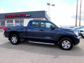 Used 2013 Toyota Tundra Tundra-Grade SR5 Double Cab 4WD Certified for sale in Milton, ON