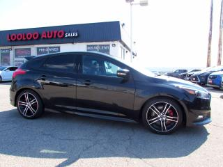 Used 2015 Ford Focus ST Hatch 6 Speed Manual Navigation Camera Certified for sale in Milton, ON