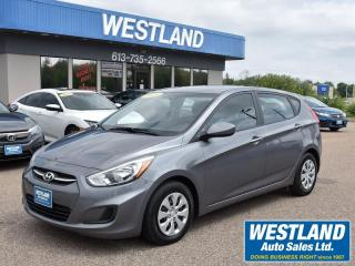 Used 2016 Hyundai Accent GL for sale in Pembroke, ON