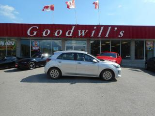 Used 2018 Kia Rio 5-Door LX+! MANUAL! CLEAN CARFAX! BACKUP CAM! B/T! for sale in Aylmer, ON
