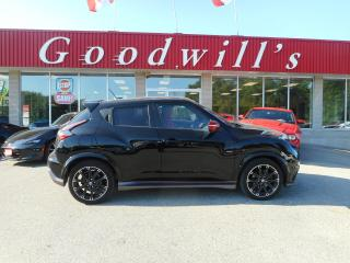 Used 2016 Nissan Juke NISMO! NAV! BLUETOOTH! BACKUP CAMERA! for sale in Aylmer, ON
