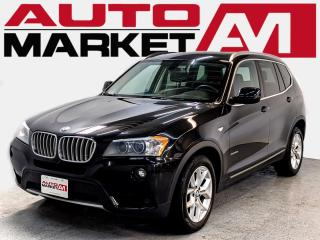 Used 2014 BMW X3 CERTIFIED,Sunroof,WE APPROVE ALL CREDIT for sale in Guelph, ON