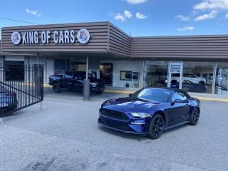 Used 2019 Ford Mustang EcoBoost Premium Convertible for sale in Langley, BC