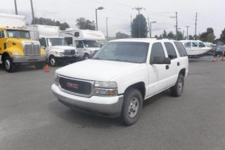 Used 2002 Chevrolet Tahoe Ex Police 4WD for sale in Burnaby, BC