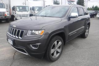 Used 2016 Jeep Grand Cherokee LIMITED 4WD for sale in Burnaby, BC