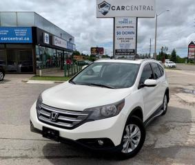 Used 2014 Honda CR-V EX 4WD | BACKUP CAM | HEATED SEATS | NAV | SUNROOF | for sale in Barrie, ON
