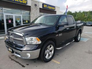 Used 2016 RAM 1500 SLT Crew Cab 4x4 Backup Cam Tonneau Cover Step ups for sale in Trenton, ON